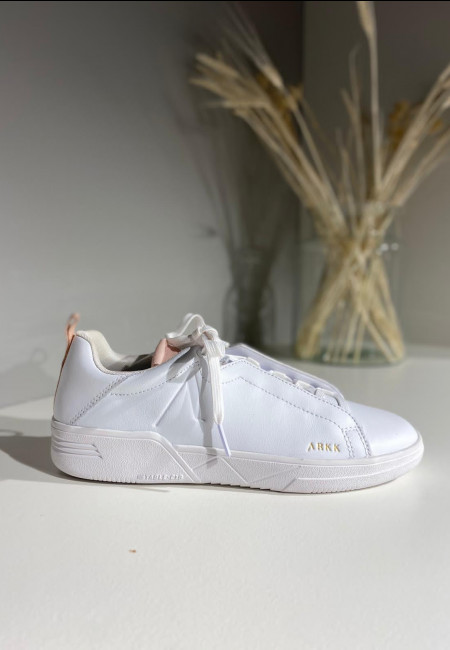 Sneaker White Shell Pink 36